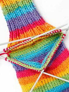 Kantapään kavennukset Crochet Socks, Knitting Socks, Hand Knitting, Knit Crochet, Wool Socks, Knit Picks, Wool Thread, Baby Knitting Patterns, Knitting Projects