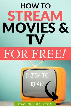Looking to stream free movies and tv shows? Check out these legit free streaming services and watch movies and tv shows for free! Streaming Tv Shows, Streaming Movies, Tv Streaming Free, Streaming Sites, Watch Tv For Free, Tv Without Cable, Cable Tv Alternatives, Tv 40, Free Tv And Movies