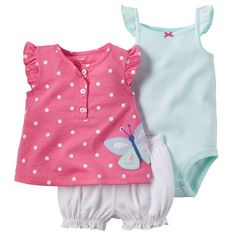 Cheap baby set, Buy Quality baby romper sets directly from China romper set Suppliers: Baby Romper Set baby girl summer Bodysuits + Short + T-shirt Retail baby Set Girls triangle Rompers Kids Clothes Carters Baby Girl, Baby Girl Romper, Baby Girl Newborn, Baby Girls, Kids Girls, Baby Rompers, Toddler Girls, Outfits Niños, Kids Outfits