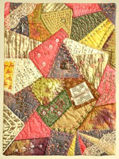 Crazy for Nancy – Jane Misslich.  Love the overlapping patches.