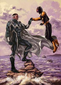 Blue Marvel & Nova