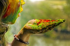 Holi Colors - Holi, the festival of colors and love !!!