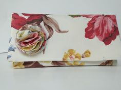 Clutch Handbag floral vintage print by PaperFlora on Etsy, $37.00