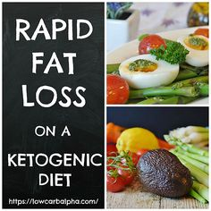 Lose Fat Fast with the Ketogenic Diet Plan | For the best low carb diet for healthy rapid fat loss using the body's natural metabolism, consider a keto diet