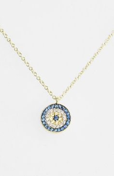 MeiraT 'Desert Infusion' Diamond & Sapphire Pendant Necklace available at #Nordstrom