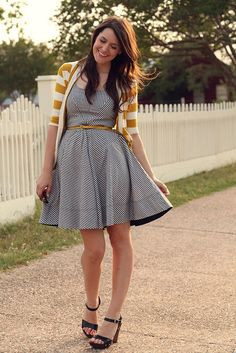 I love the stripe detail on this dress (Kendi everyday).