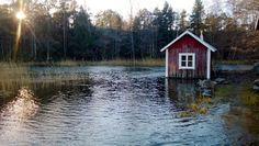 Sauna. By the sea. Archipelago. Finland.