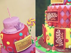 Willy Wonka Party with Such Cute Ideas via Kara's Party Ideas   KarasPartyIdeas.com #CharlieAndTheChocolateFactoryParty #PartyIdeas #Supplie...