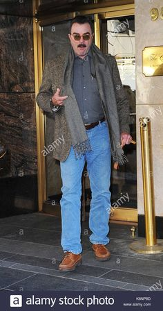 Download this stock image: Tom Selleck. Tom Selleck seen going to work on his TV show 'Blue Bloods' in New York City. - K6NP8D from Alamy's library of millions of high resolution stock photos, illustrations and vectors.