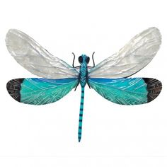 Dragonfly Wall Hanging Decoration Capiz Wing and Metal Home Wall Art Sculpture #Home #Contemporary