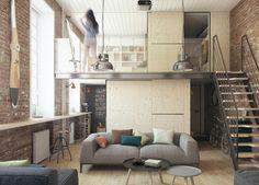 Soffitti Alti Illuminazione : Fantastiche immagini in soffitti alti su nel