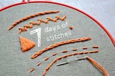 7 days of stitches by Anne | Project | Embroidery / Decorative | Kollabora