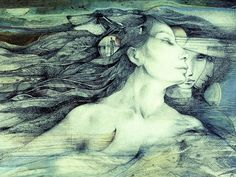 shaman the paintings of susan seddon boulet Orisha, Fantasy Life, Fantasy Art, Native American Art, American Artists, Illustrations, Illustration Art, Pagan Art, Goddess Art
