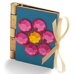 Princess Craft Jeweled Scrapbook, I would do it as a journal though. (It would be fun to do for the girls I babysit)