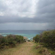 Hiking to the top of Palomino Island  Fajardo, Puerto Rico