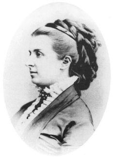 Catherine B. Tatishcheva, nee Princess Meshcherskaya (1848-1930), the maid of honor, the wife of the Governor of Poltava Alexander Nikitich Tatishchev