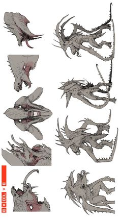 Discover recipes, home ideas, style inspiration and other ideas to try. Monster Concept Art, Monster Art, Creature Concept Art, Creature Design, Alien Creatures, Fantasy Creatures, Character Art, Character Design, Beast Creature
