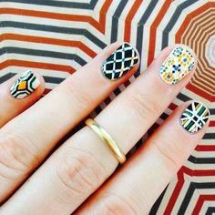 Alhambra style #nails #nailart #maadnails #notd #bbloggers #alhambra #tiles #nailsofinstagram #granada
