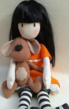 La cesta de caperucita por Ana Garcia: Una mascota para Amalia