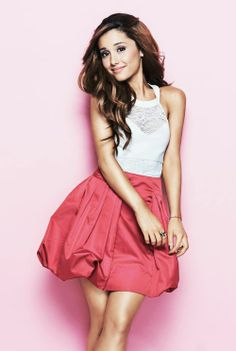 @Ariana Bourke grande you are so pretty. You are an amazing singer and a really funny actress lol. I wish I could be as talented as you. Love ya.