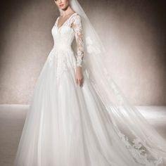 af565c6e Brudekjole fra San Patrick Muth hos Sans for Bryllup