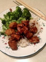Bourbon Chicken. My favorite food in the universe.