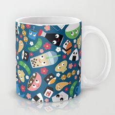 Bento Box Coffee Mug by heidikenney Yummy World, Bento Box, Coffee Mugs, Tableware, Dinnerware, Dishes, Coffee Cup, Bento