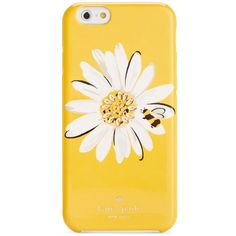 kate spade new york Jeweled Daisy iPhone 6/6S Case ($30) ❤ liked on Polyvore featuring accessories, tech accessories, phone cases, phones, fillers, tech and kate spade