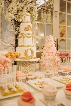 The Perfect Dessert Table!!!!!!!!!!