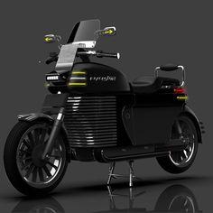 unveils the black version of their electric cruiser Motorcycle News, Electric Motor, Blacksmithing, Porsche, Honda, India Asia, Bike, Vehicles, Motorcycles