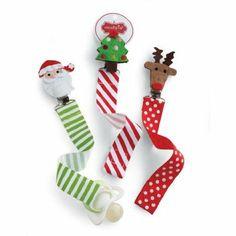 Mud Pie Christmas Pacifier Clips #WhimsicalUmbrella #Pacifier #Clips #Holidays #Christmas #Gift whimsicalumbrella.com