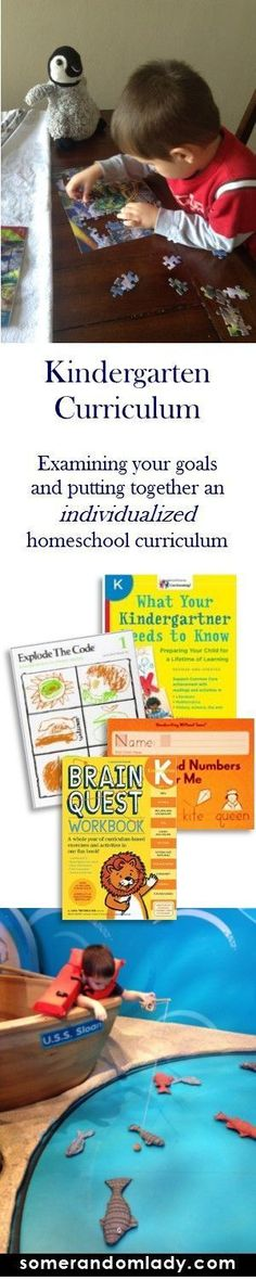Putting together an individualized curriculum for kindergarten. How we assessed our homeschool and educational goals for the year and how they lead us to an eclectic variety of materials. Click through to see our kindergarten curriculum choices.