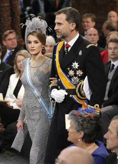 Leticia y Felipe de España