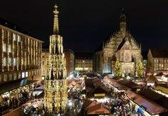 christkindlesmarkt & schöner Brunnen