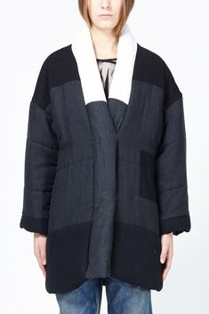 Isabel Marant Delma Coat (Anthracite)