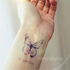 white butterfly tattoos tumblr - Google Search