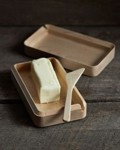 #product design #industrial design #simple #minimalism - Cara butter case - Takahashi Kougei