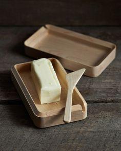 #product design #industrial design #simple #minimalism - Cara butter case - Takahashi Kougei