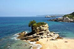 Santander, capital da Cantábria, comunidade autónoma espanhola. Cidade portuária, banhada pelo mar Cantábrico, com turismo balnear e belas paisagens