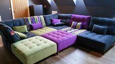 My Fama sofa. Loving our Cinema Room