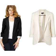 Blazers for my Closet, created by jennifer-collman on Polyvore
