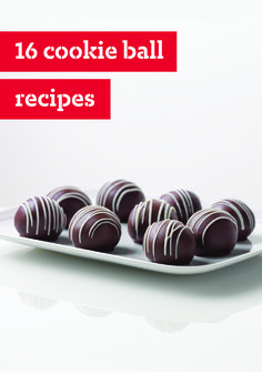 16 Cookie Ball Recipes – Cookie balls are the answer. The question? Take your pick: What's one of the easiest no-bake treats you can make? What's a potluck dessert that's sure to please? What can you give your love (or loves!) this Christmas? Our cookie ball recipes included fruity, nutty, and super-chocolatey —some are all three! And like all cookie balls, they're a cinch to make.