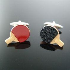 Table Tennis Cufflinks