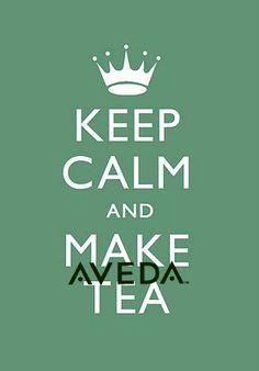 When like gets busy, relax with a cup of AVEDA comforting tea