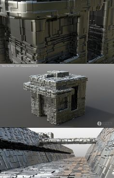 """ArtStation - """"Born Too Slow"""" Displacement test 06, Federico Fissore - State Of The Art"""