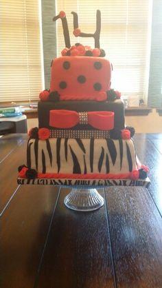 Coolest Little Diva Birthday Cake