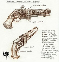 Dwarven pistol