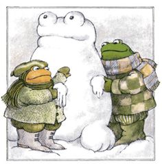 Frog and Toad - Arnold Lobel ~ Creativity ~