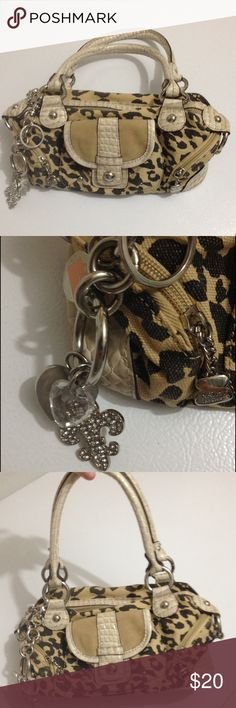 Kathy Van Zealand leopard print bag In great shape! No tears, rips or stains Kathy Van Zeeland Bags