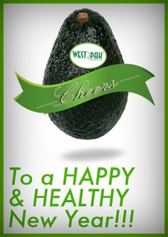 An avocado cheers to 2013!